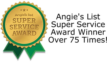 Angies List Super Service Award 2010-2013 - Handyman Home Improvement Award Winner for Cary, Durham, Raleigh