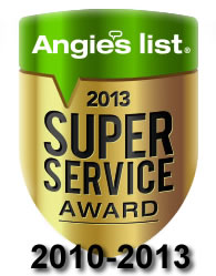 Angies List Super Service Award 2012