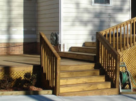 Wood Deck Builder Patio Holly Springs NC