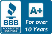 BBB Complaint-Free for 10 Years