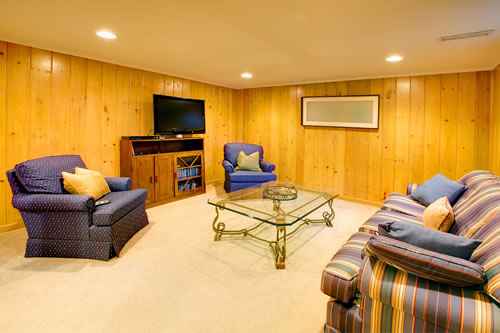 Basement remodel attic refinishing high point basement Man cave ideas unfinished basement