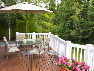 Outdoor Patio Wooden Deck Clemmons NC
