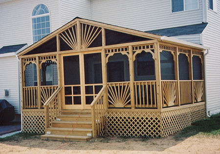 Screened Porches in Holly Springs NC